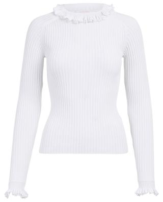 Ribbed cotton blend jumper SEE BY CHLOE