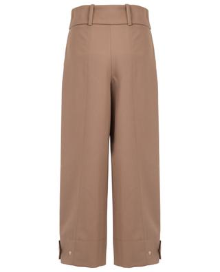 Cropped wide-leg tricotine trousers SEE BY CHLOE