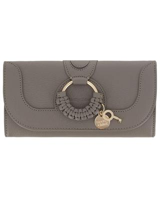 Lange Brieftasche aus genarbtem Leder Hana SEE BY CHLOE