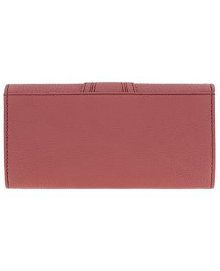 Hana long grained leather wallet SEE BY CHLOE