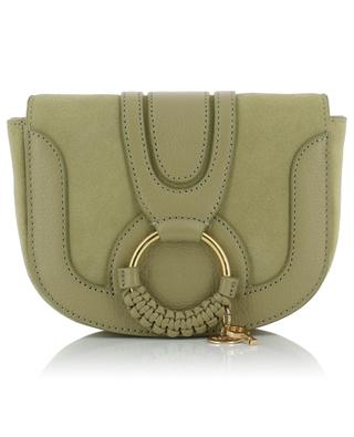 Hana leather and suede shoulder bag SEE BY CHLOE