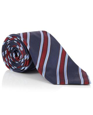 Gestreifte Krawatte aus Seide BRIONI