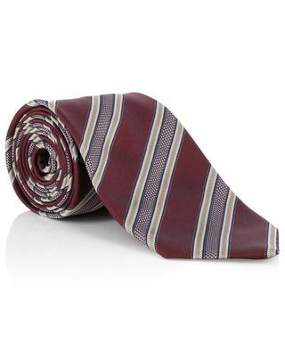 Striped silk tie BRIONI