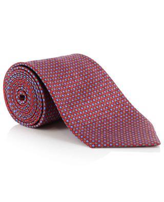 Getupfte Krawatte aus Seide BRIONI