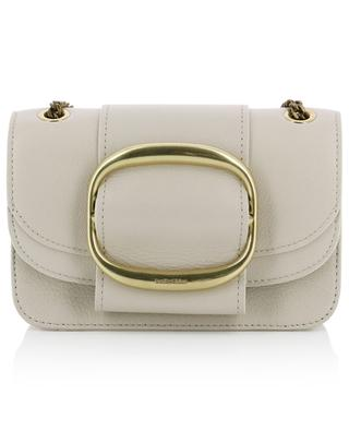 Hopper small grained leather shoulder bag SEE BY CHLOE