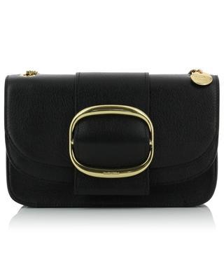 Hopper grained leather shoulder bag SEE BY CHLOE