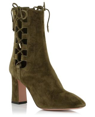Bottines en daim Medina AQUAZZURA