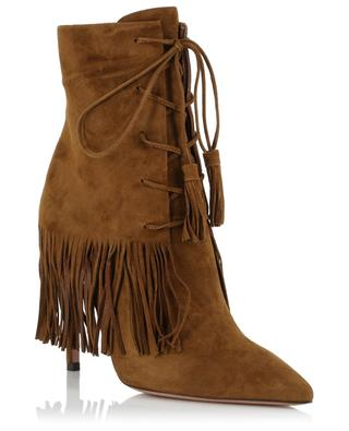 Bottines en daim Mustang AQUAZZURA