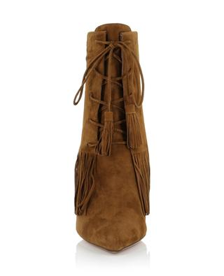 Mustang suede ankle boots AQUAZZURA