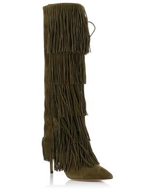 Shake suede boots AQUAZZURA