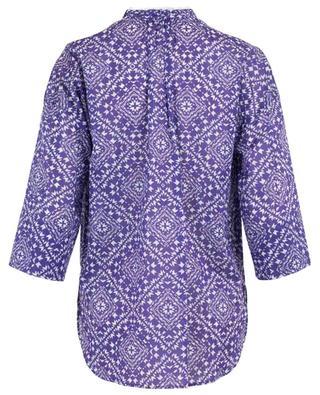 Ethnical print adorned blouse WINDSOR