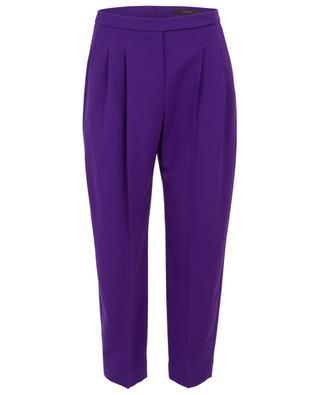 Straight virgin wool trousers WINDSOR