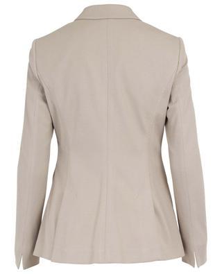 Agnona piqué cotton blazer WINDSOR