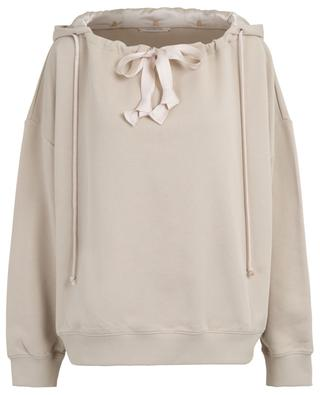 Sweat-shirt à capuche amovible Causal Shine DOROTHEE SCHUMACHER