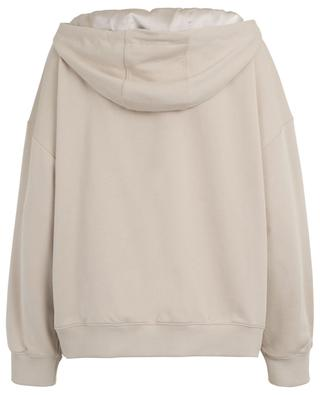 Casual Shine sweatshirt with removable hood DOROTHEE SCHUMACHER