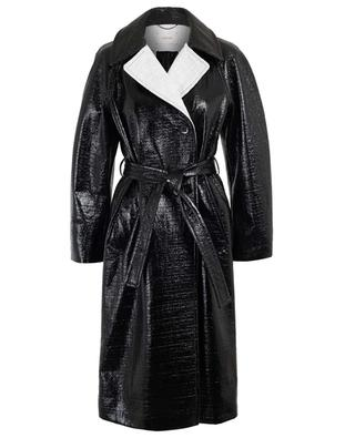 Trench en tweed verni Infinite Gloss DOROTHEE SCHUMACHER