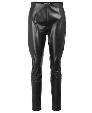 Second Skin faux leather slim fit trousers DOROTHEE SCHUMACHER