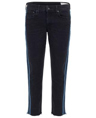 Slim-Fit-Boyfriend-Jeans Dre Low-rise Ankle Stone Black RAG&BONE JEANS