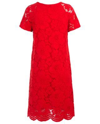 Kurzes Kleid aus geblümter Spitze Anatol TOUPY