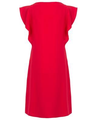 Robe trapèze ornée de volants Blondi TOUPY