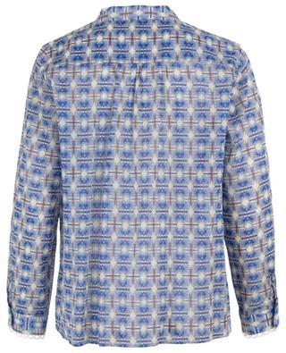 Bedruckte Bluse aus Baumwollvoile Ellie TOUPY