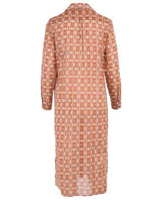 Robe chemise imprimée en voile de coton Erable TOUPY