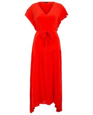 Genie midi silk dress TOUPY