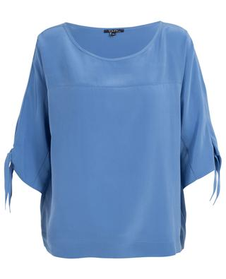 Top oversize en soie Grease TOUPY