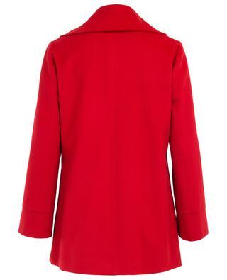 Short wool coat with oversized collar ETRO
