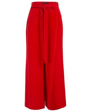 Belted silk wide-leg trousers ETRO