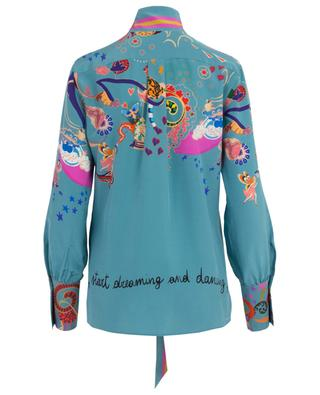 Bedrucktes Hemd aus Seide Day Dreamers ETRO