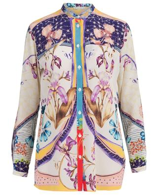 Surrealistic Garden printed silk shirt ETRO