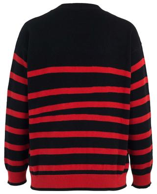 Start Dreaming and Dancing striped embroidered jumper ETRO