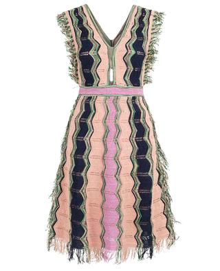 Sleeveless crochet dress M MISSONI