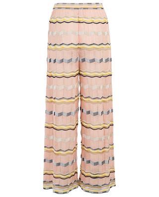 Pantalon large en maille légère M MISSONI