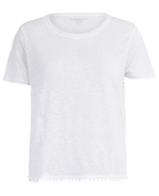 T-Shirt aus Leinen mit Borte MAJESTIC FILATURES