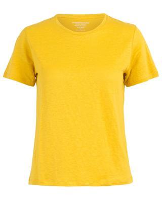 T-shirt à manches courtes en lin MAJESTIC FILATURES