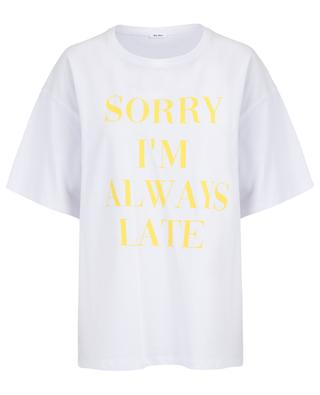 Dorothee Sorry slogan T-shirt THE SHIRT