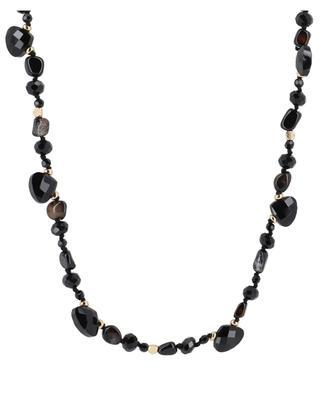Carter black agate necklace BCHARMD