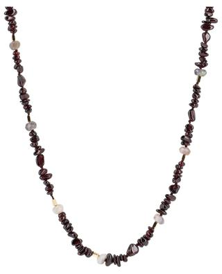 Lynda long garnet and agate necklace BCHARMD