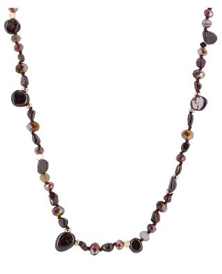 Lange Halskette aus Granat Tyler BCHARMD
