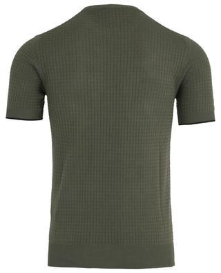 Textured cotton T-shirt PAOLO PECORA