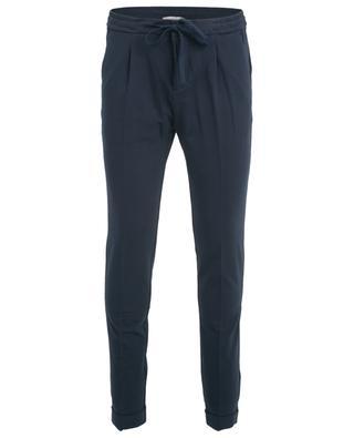 Piqué cotton trousers PAOLO PECORA