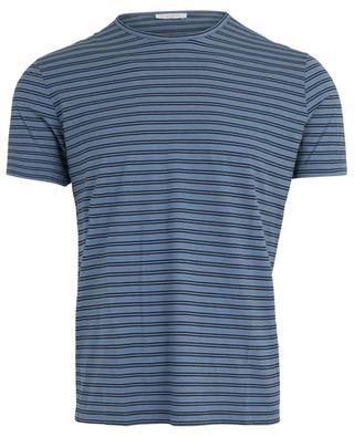 Gestreiftes T-Shirt mit kurzen Ärmeln PAOLO PECORA