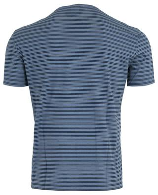 T-shirt rayé à manches courtes PAOLO PECORA