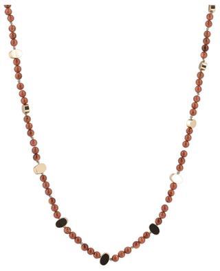 Lange Halskette aus Sandstein Fawcett BCHARMD