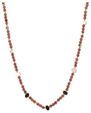 Fawcett long sandstone necklace BCHARMD