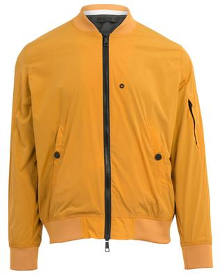 Technical fabric bomber jacket PAOLO PECORA