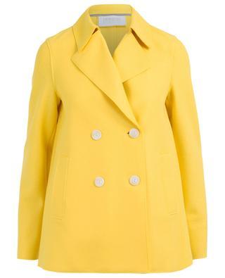 Manteau caban court en laine vierge HARRIS WHARF