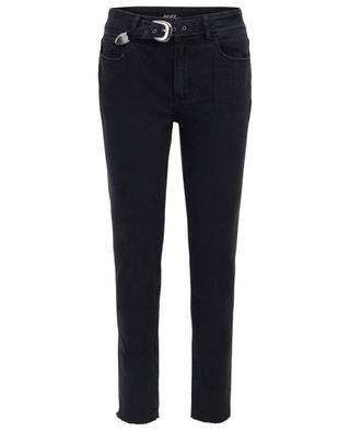 Jeans mit integriertem Gürtel Hoxton PAIGE